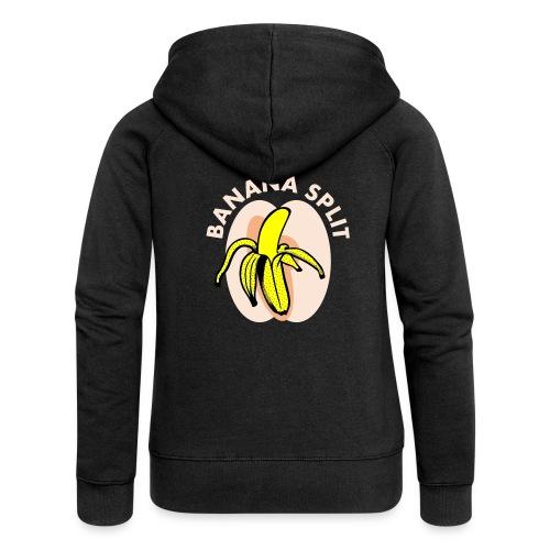 Banane split - Veste à capuche Premium Femme