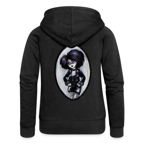 Trad Goth Art by E. R. Whittingham - Women's Premium Hooded Jacket