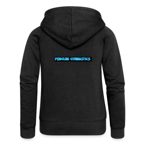 The penguin gymnastics - Women's Premium Hooded Jacket
