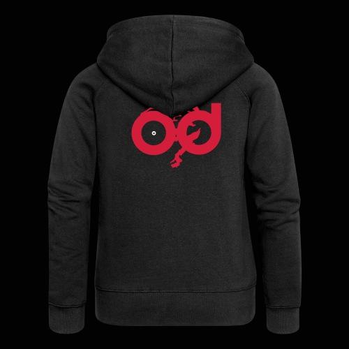 od, official logotype - Veste à capuche Premium Femme