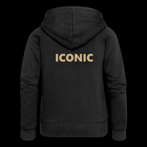 ICONIC [Cyber Glam Collection] - Women's Premium Hooded Jacket