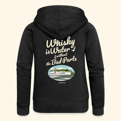 Whisky Is Water Brennerei - Frauen Premium Kapuzenjacke