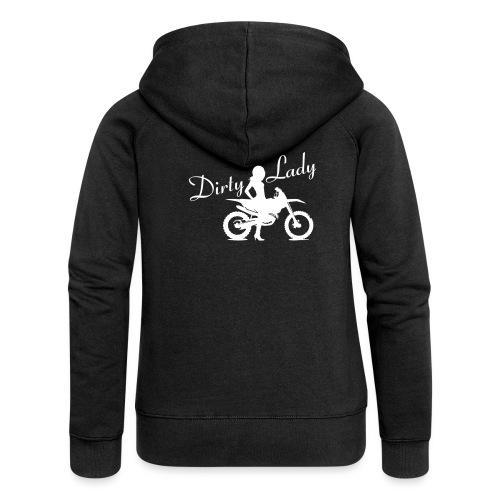 Dirty Lady - Dirt bike - Naisten Girlie svetaritakki premium