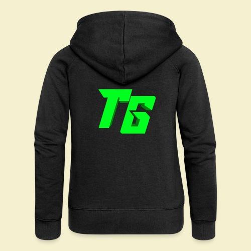 TristanGames logo merchandise [GROOT LOGO] - Vrouwenjack met capuchon Premium