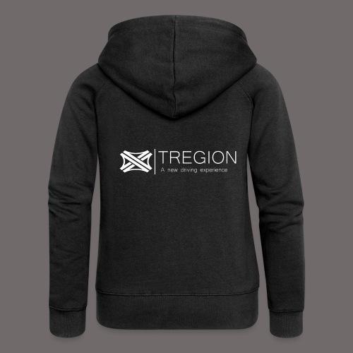 Tregion Logo wide - Women's Premium Hooded Jacket