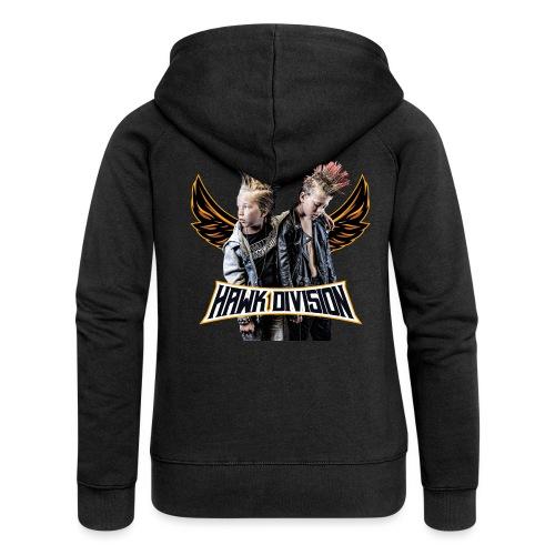 Hawk Division - Women's Premium Hooded Jacket
