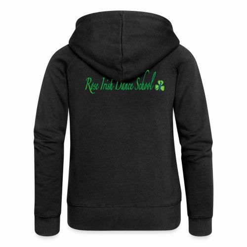 Rose Irish Dance School - Vrouwenjack met capuchon Premium