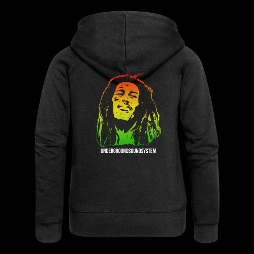 King of Reggae - Frauen Premium Kapuzenjacke