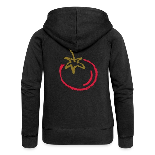 tomato 1000points - Women's Premium Hooded Jacket