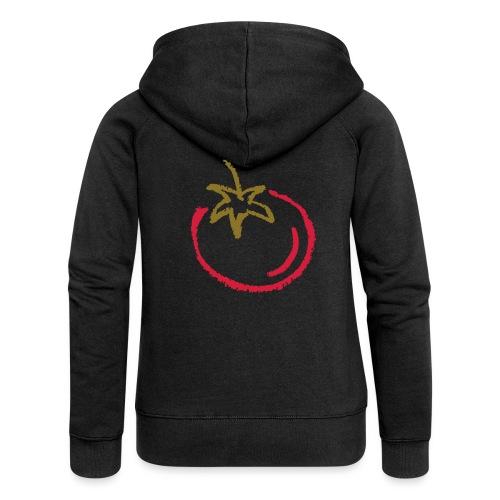 tomato 1000points - Women's Premium Hooded Jacket