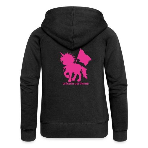 unicorn partisans - Women's Premium Hooded Jacket