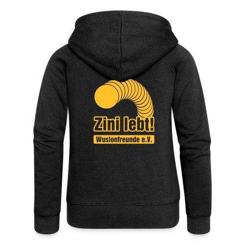 Zini lebt! - Frauen Premium Kapuzenjacke
