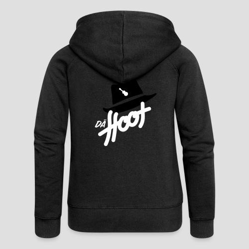 daeHoot_Shirt_Logo2_2c - Frauen Premium Kapuzenjacke