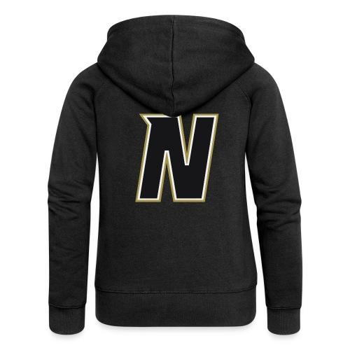 Nordic Steel Black N - Women's Premium Hooded Jacket