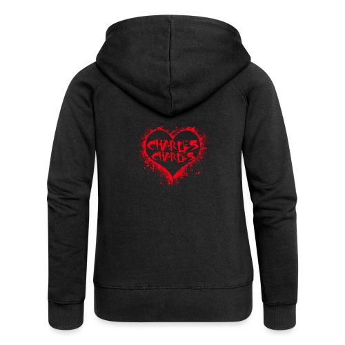 CHARLES CHARLES VALENTINES PRINT - LIMITED EDITION - Women's Premium Hooded Jacket