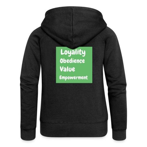 loyality - Premium luvjacka dam