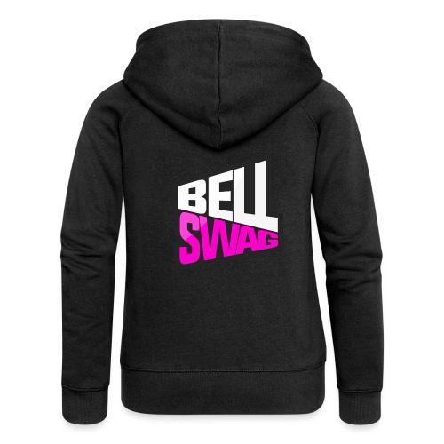 Bellswag logo transparent large - Women's Premium Hooded Jacket