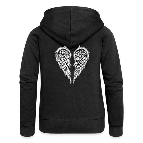 6 Angel - Women's Premium Hooded Jacket
