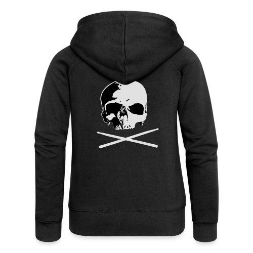 skull and sticks - Frauen Premium Kapuzenjacke