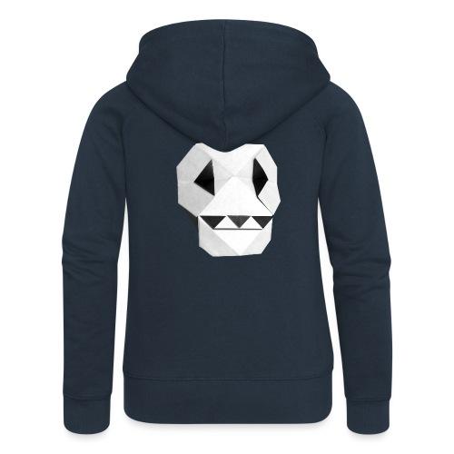 Origami Skull - Skull Origami - Calavera - Teschio - Women's Premium Hooded Jacket