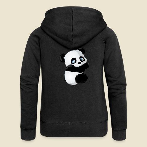 Bébé Panda - Veste à capuche Premium Femme