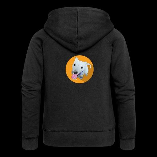 Computer figure 1024 - Women's Premium Hooded Jacket