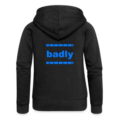 badly shop - Women's Premium Hooded Jacket