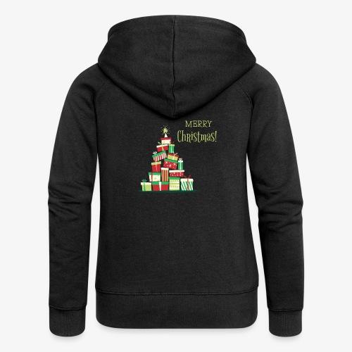 Cadeaux - Merry Christmas - Veste à capuche Premium Femme