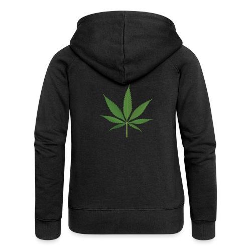 Weed - Women's Premium Hooded Jacket