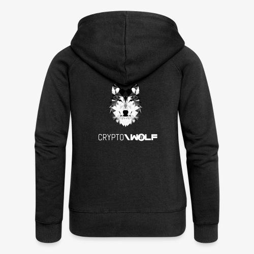 HODL cryptowolf - Women's Premium Hooded Jacket