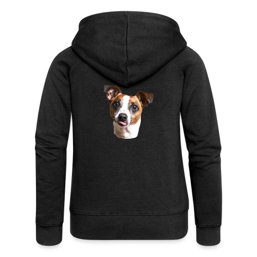 Jack Russell - Women's Premium Hooded Jacket