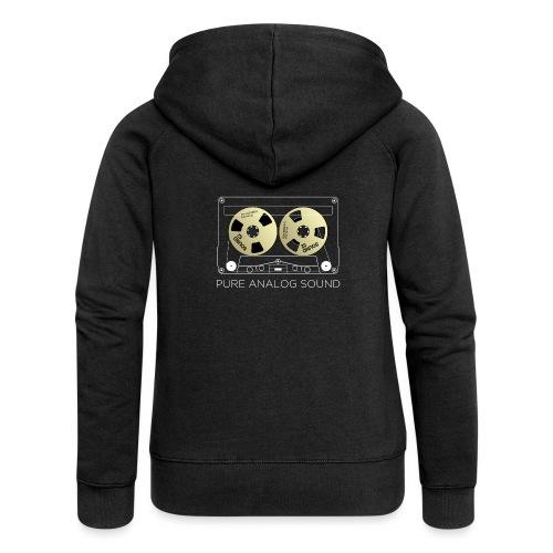 Reel golden cassette - Women's Premium Hooded Jacket