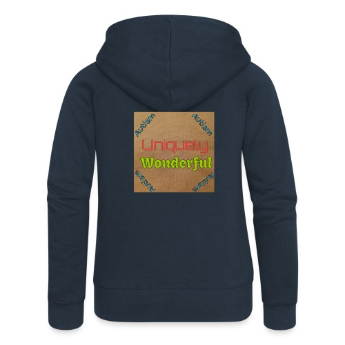 Autism statement - Women's Premium Hooded Jacket
