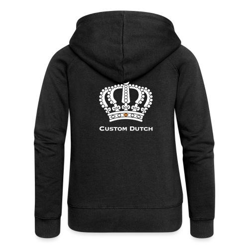Custom Dutch' Kroon - Vrouwenjack met capuchon Premium