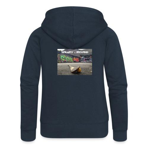 GALWAY IRELAND BARNA - Women's Premium Hooded Jacket