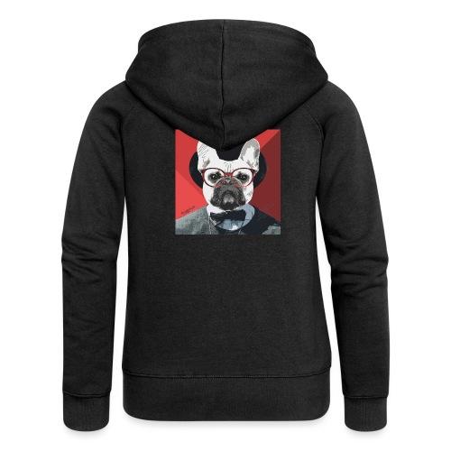 French Bulldog Artwork 2 - Frauen Premium Kapuzenjacke