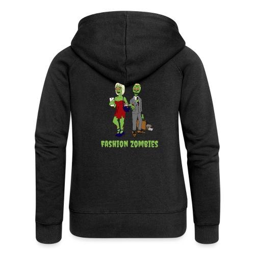 Fashion Zombie - Women's Premium Hooded Jacket