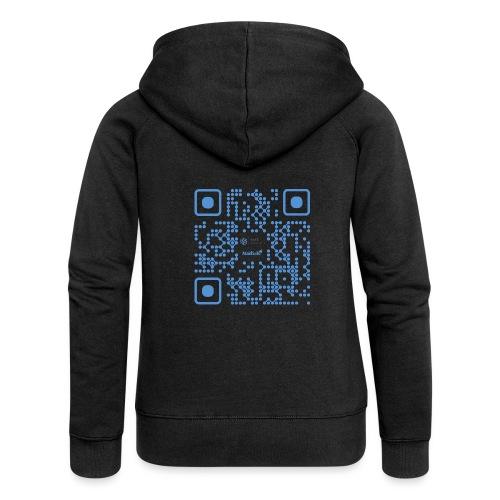 QR Maidsafe.net - Women's Premium Hooded Jacket