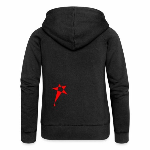 SWEATY STAR® Skateboarding Spread - Veste à capuche Premium Femme