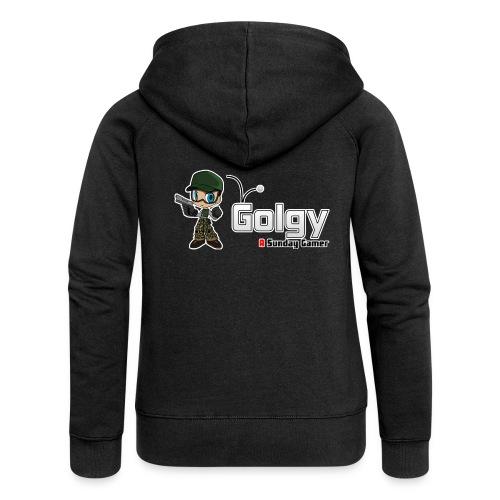 Logo Golgy 2018 V1 - Veste à capuche Premium Femme