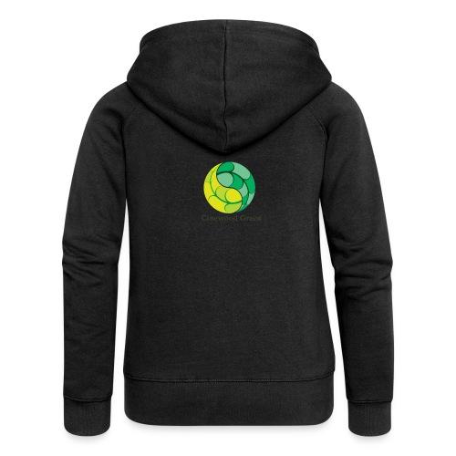 Cinewood Green - Women's Premium Hooded Jacket
