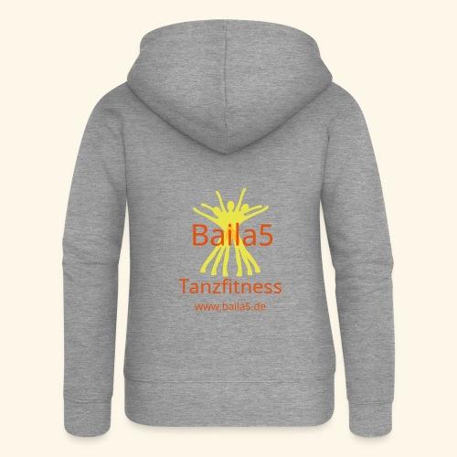 Baila5 Tanzfitness gelb - Frauen Premium Kapuzenjacke