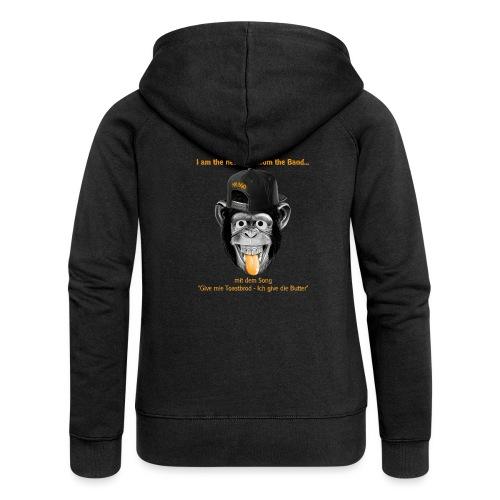 Musgo der Affe - Frauen Premium Kapuzenjacke