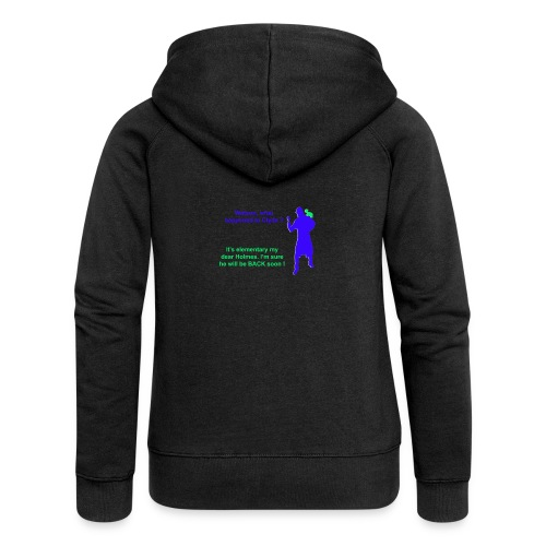 Clyde will be back - Women's Premium Hooded Jacket