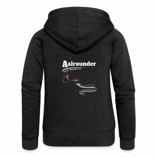 Aalrounder - Aal flexibel Angeln - Fishy Worm - Frauen Premium Kapuzenjacke