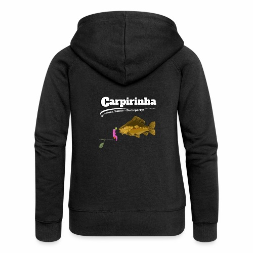 Carpirinha - Karpfen Angeln - Fishyworm - Frauen Premium Kapuzenjacke