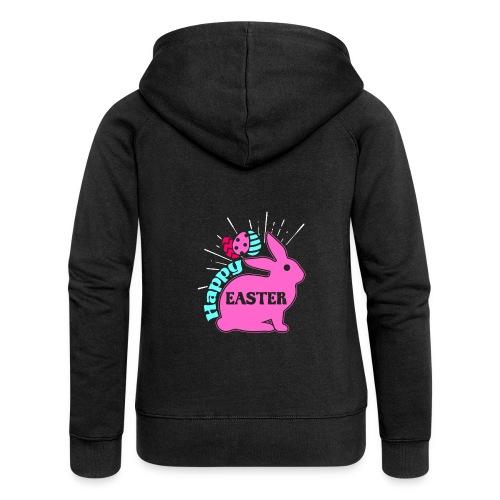 Happy Easter - Frohe Ostern - Frauen Premium Kapuzenjacke