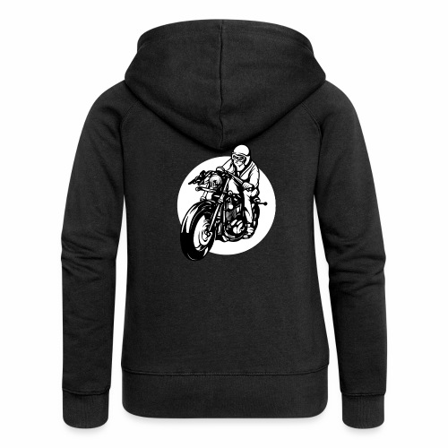 Motorradfahrer - Women's Premium Hooded Jacket