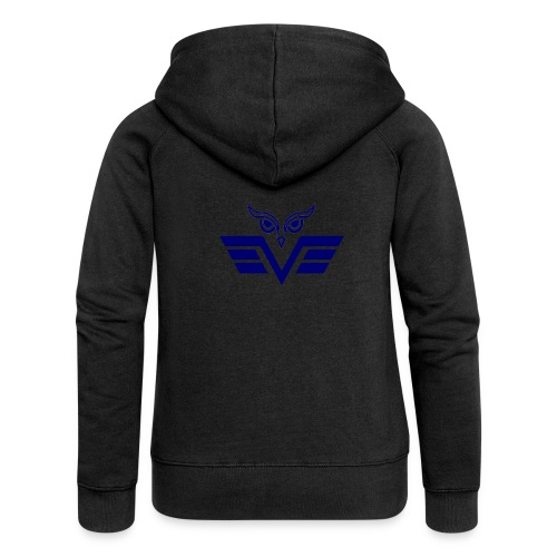 blue owl - Women's Premium Hooded Jacket