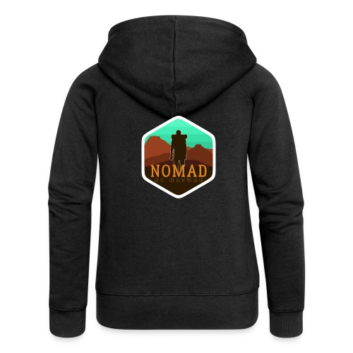 Nomad By Nature - Frauen Premium Kapuzenjacke